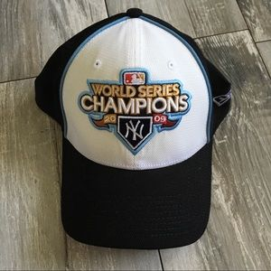 New Era 2009 World Series NY Yankees Flex Fit Hat